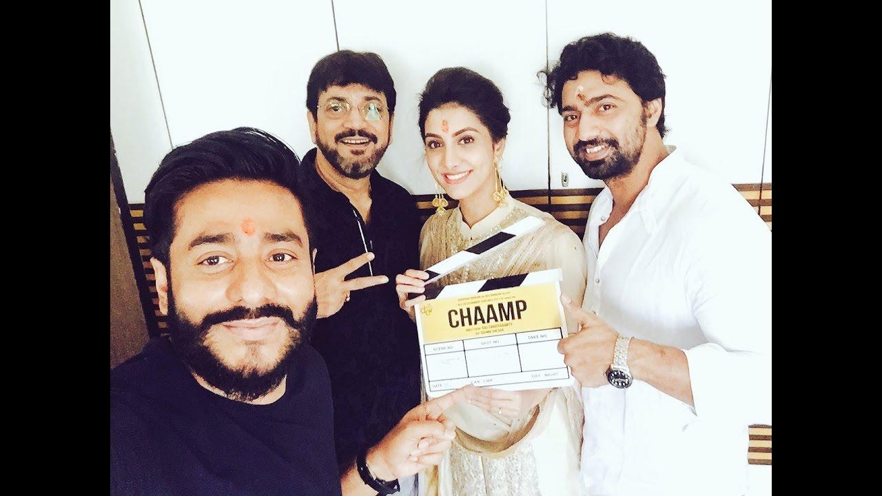Chaamp Bengali Film Muhurat Video   Dev & Rukmini starer Chaamp ...