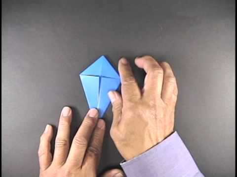 Origami Master Henry Kaku Origami Crane Youtube