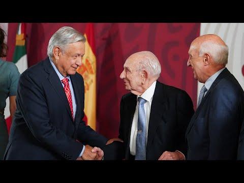 México garantiza derecho al asilo a 80 años del exilio español. Conferencia presidente AMLO