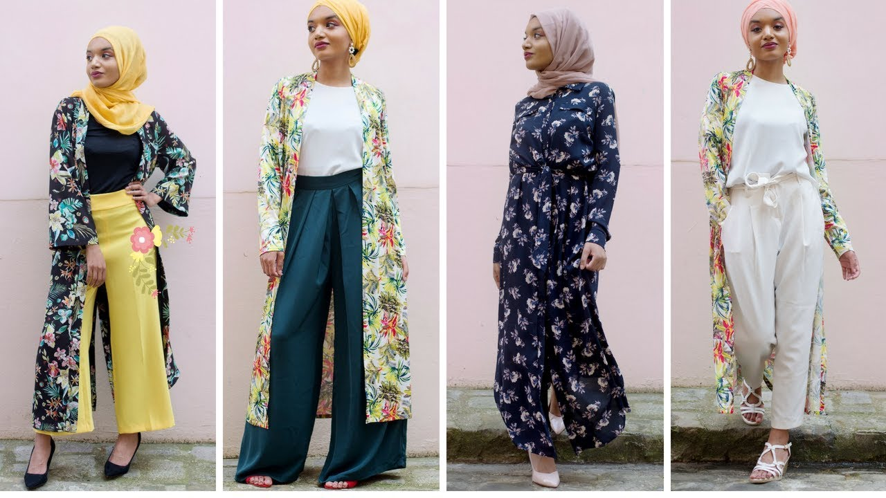 outfits Trend Flowerpower 20185 Lookbook Hijabs Summer 6IY7gyvbf