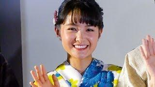 次期朝ドラ主演 葵わかな、ネコ好きエピソード披露! 映画『逆光の頃』初日舞台あいさつ 葵わかな 動画 28
