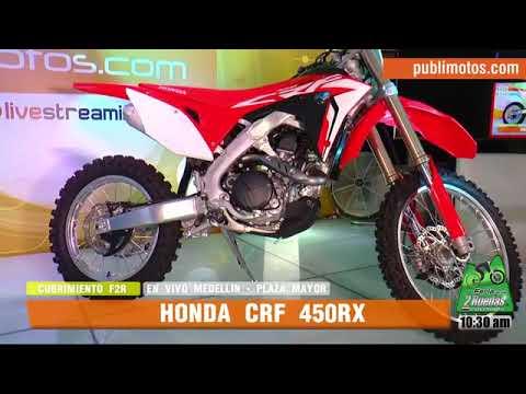 #PubliMotosF2R2018 | Honda nos cuenta sus novedades con la CRF 450 RX