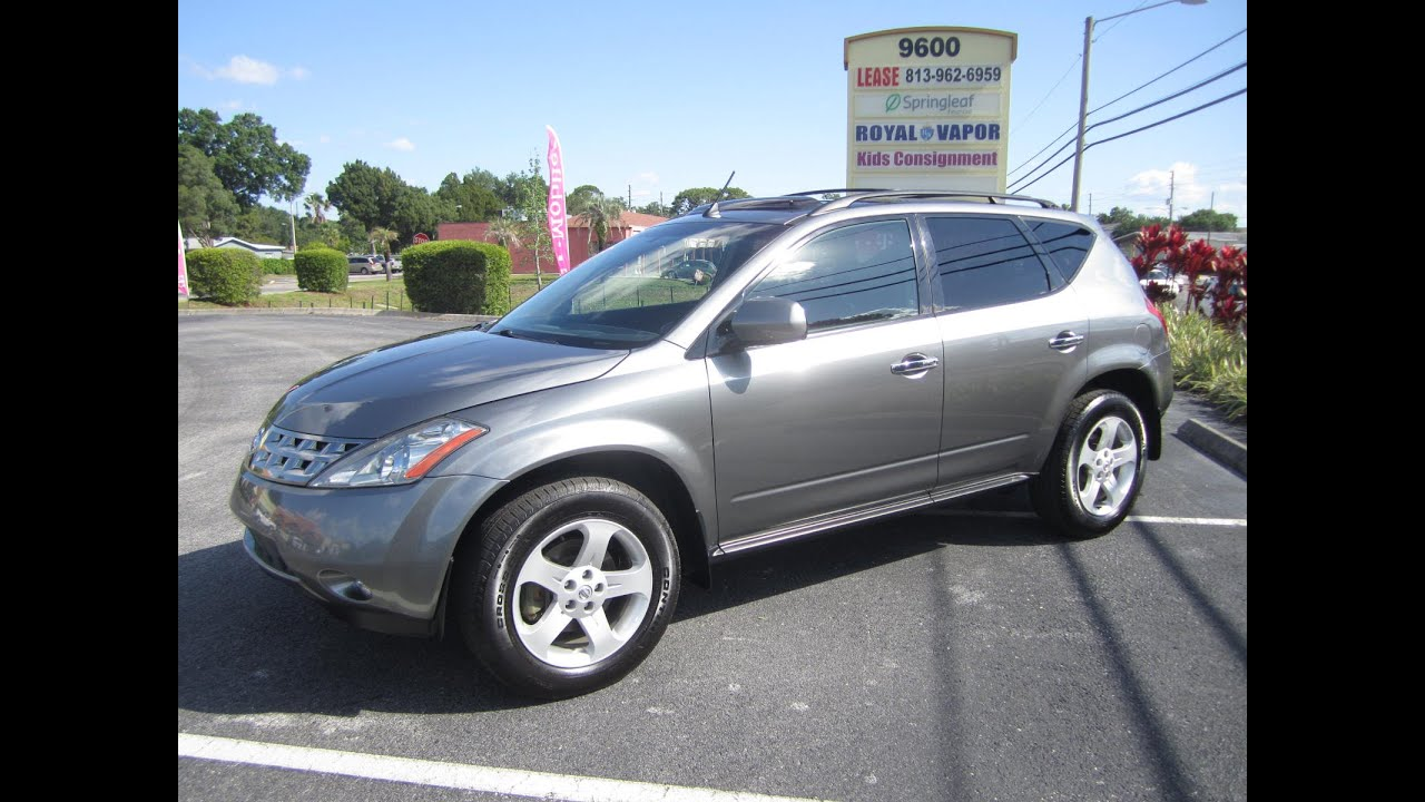 2005 Nissan Murano Sl One Owner Meticulous Motors Inc