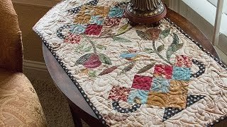 Candy Dish Table Runner Quilt Pattern By Edyta Sitar Of Laundry Basket Quilts -- Fat Quarter Shop