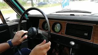 Honda N360, 1971 driving