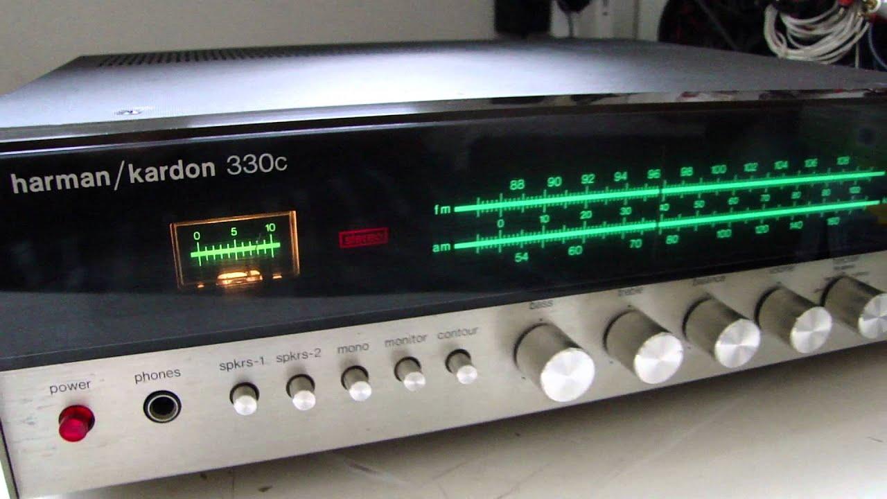 harman kardon 330 i receiver vintage test