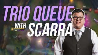 Imaqtpie - TRIO QUEUE WITH SCARRA ft. IWDominate