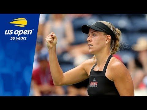 Angelique Kerber Defeats Margarita Gasparyan In Her 2018 US Open Opening Match
