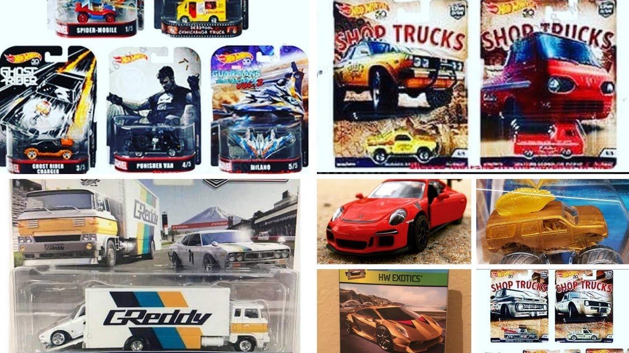 2018 hot wheels car culture shop truck new retro. Black Bedroom Furniture Sets. Home Design Ideas