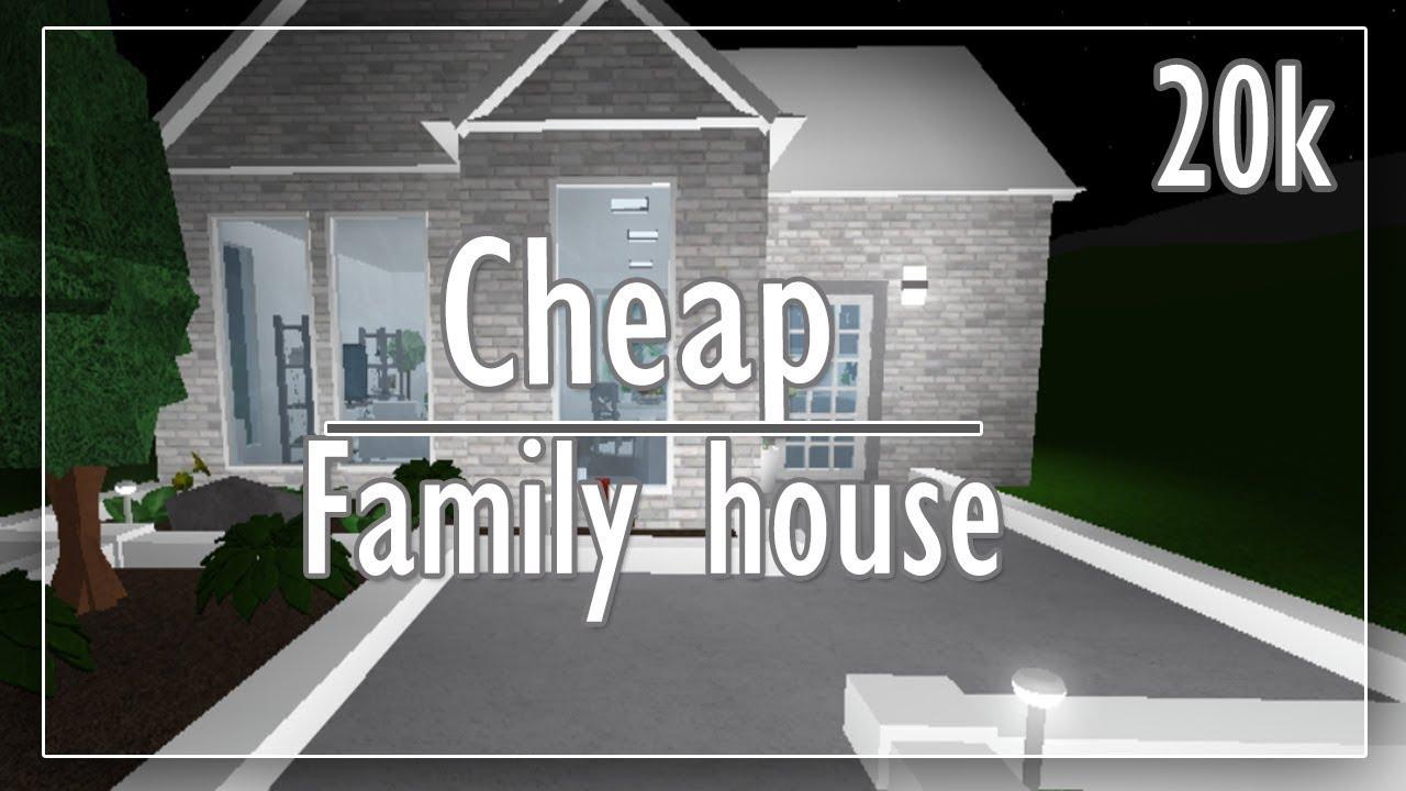 Bloxburg House Ideas One Story 20k