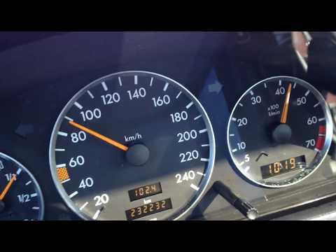 Mercedes Benz W202 C180 0-160 KM/h
