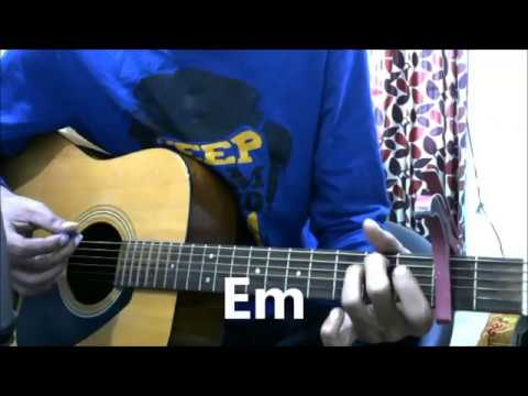 Thodi Der Half Girlfriend Guitar Cover Lesson Chords Easy