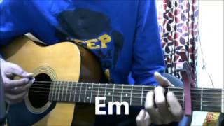 Thodi Der - Half Girlfriend - Guitar Cover Lesson Chords easy - shreya ghoshal & farhaan saeed