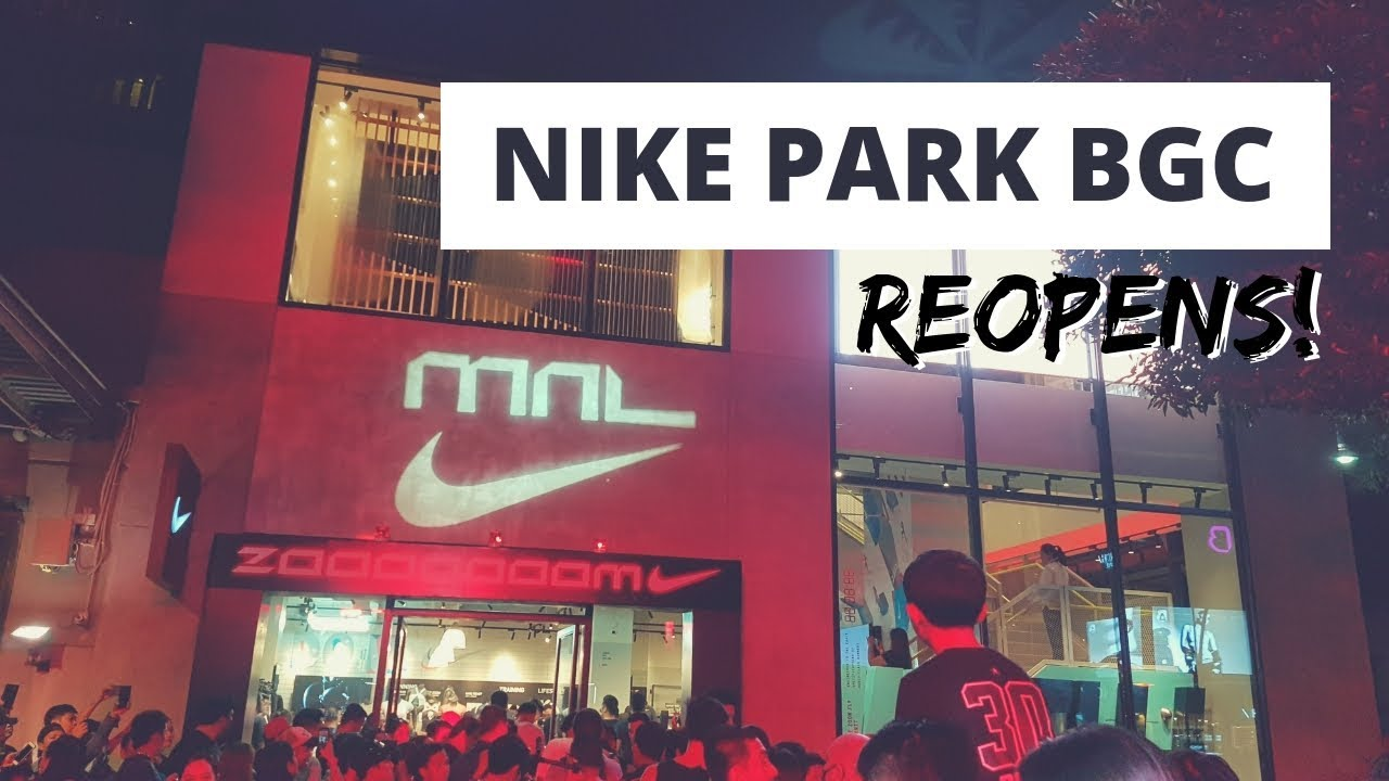 nike store in park city