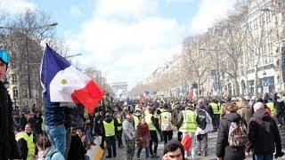 Gilets jaunes acte 18 : colère incontrôlable sur les Champs-Élysées