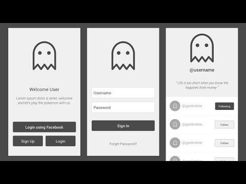 How to design Wireframe using Sketch 3...