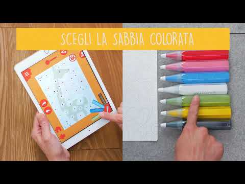 Sabbiarelli Sand Art For Kids App Su Google Play
