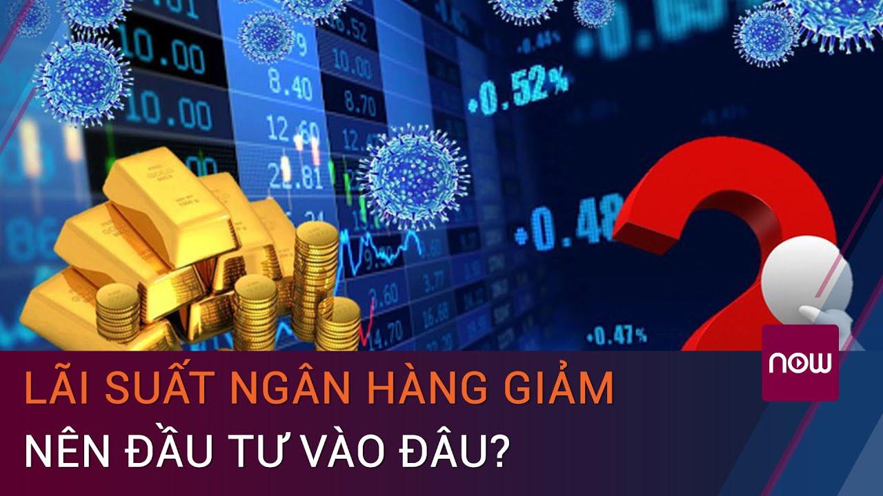 Lãi suất ngân hàng giảm: Nên đầu tư chứng khoán, vàng hay bất động sản?  | VTC Now