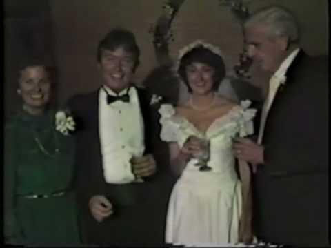 Tom and Barbara at Jerry & Karen's Wedding June 30...