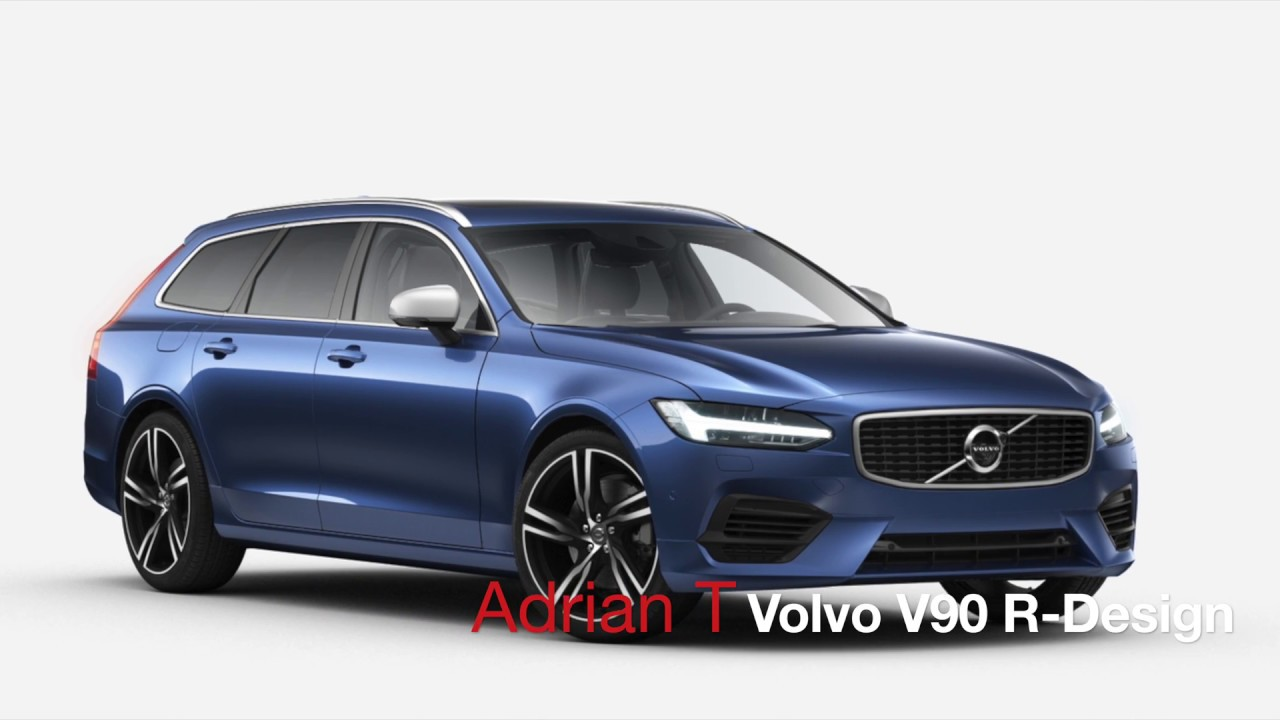 volvo v90 t8 r design youtube. Black Bedroom Furniture Sets. Home Design Ideas
