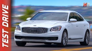 New kia K900 2018 - first preview only sound