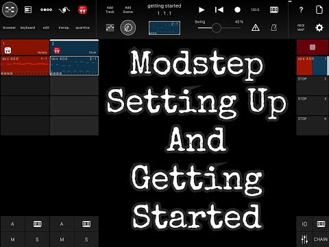 MODSTEP Setting Up And Getting Started - A Beginners Guide for the iPad