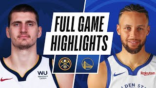 NUGGETS at WARRIORS | FULL GAME HIGHLIGHTS | April 12, 2021