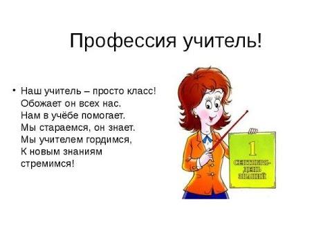 Быть учителем: плюсы и минусы профессии (по запросу)