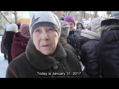 Food for Life, Donetsk. The current situation in Donetsk. January 31, 2017