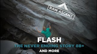 Jakob Schubert in Magic Wood 2020 - The Never Ending Story Flash