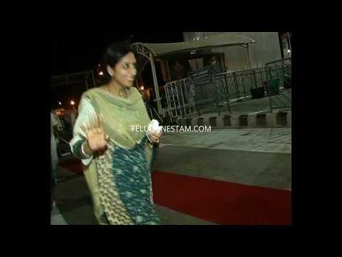 Telugu cinema hero Daggubati Venkatesh family spotted in Tirumala rare video