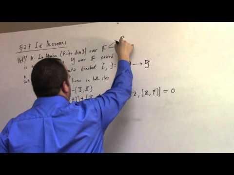 Matrix Lie Groups: March 30, adjoint and Lie Algebra (part 2)