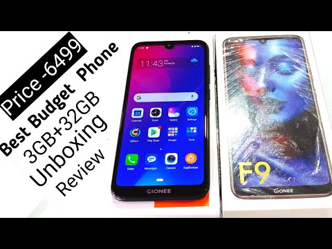 Gionee F9 Unboxing & First Look Honest Review !! Gionee F9 specification