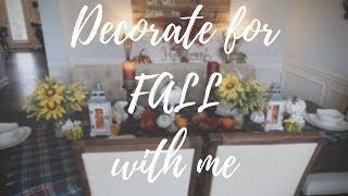 DIY RUSTIC FALL DECOR 2018