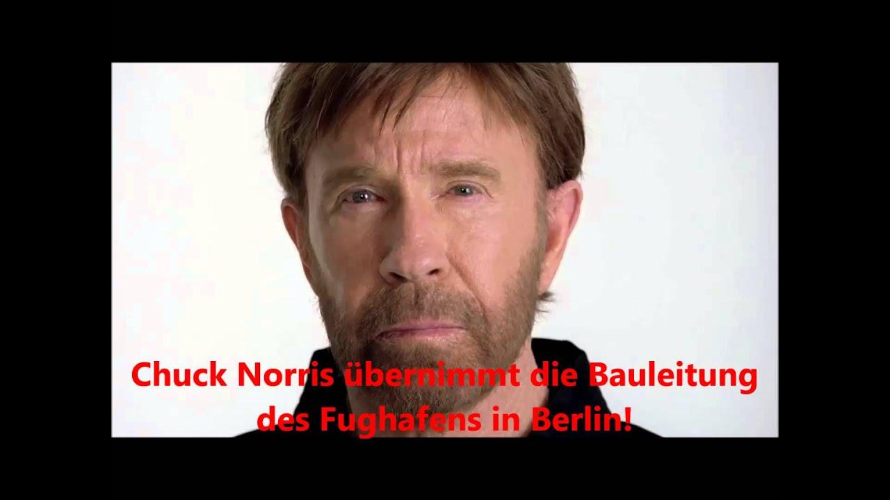 Chuck Norris Berliner Flughafen