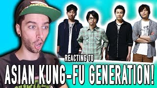 Today I react To the J-rock group known as Asian Kung-fu Generation...