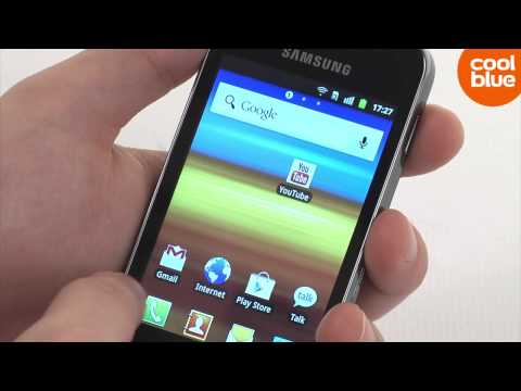 Samsung Galaxy Ace S5830 videoreview & unboxing (NL/BE)