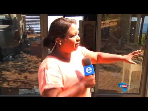 Lodge ravaged by Cape Town fire