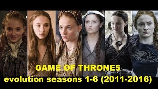 GAME OF THRONES before and after 2011-2016