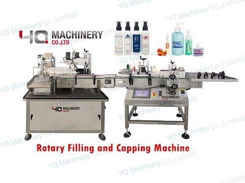 Economy Model Bottle Filling Capping And Labeling Machine For Emulsion Toner Cream