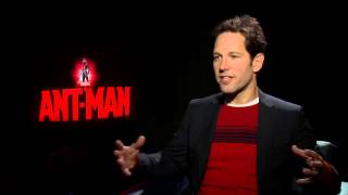 "Marvel's Ant-Man: Paul Rudd ""Scott Lang/Ant-Man"" Official Movie Interview"