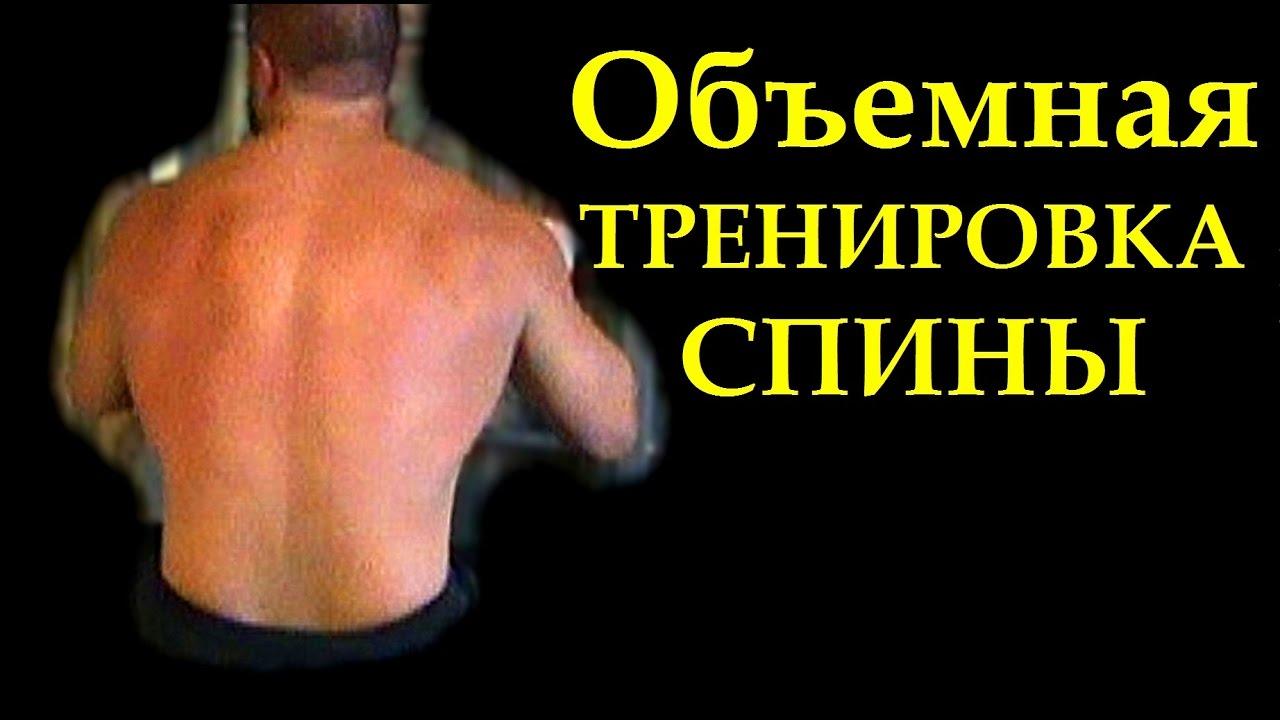 тренировки на массу спины Продажа