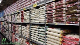Které značky a zdroje rýže mají nejméně arsenu?