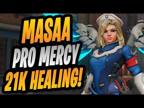 21K HEALING - MASAA PRO MERCY! BRIGITTE GAMEPLAY! [ OVERWATCH SEASON 28 ]