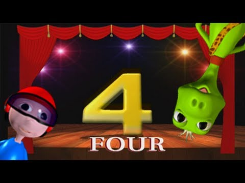 Baby Magic 123 - Part 7 Learning to count numbers