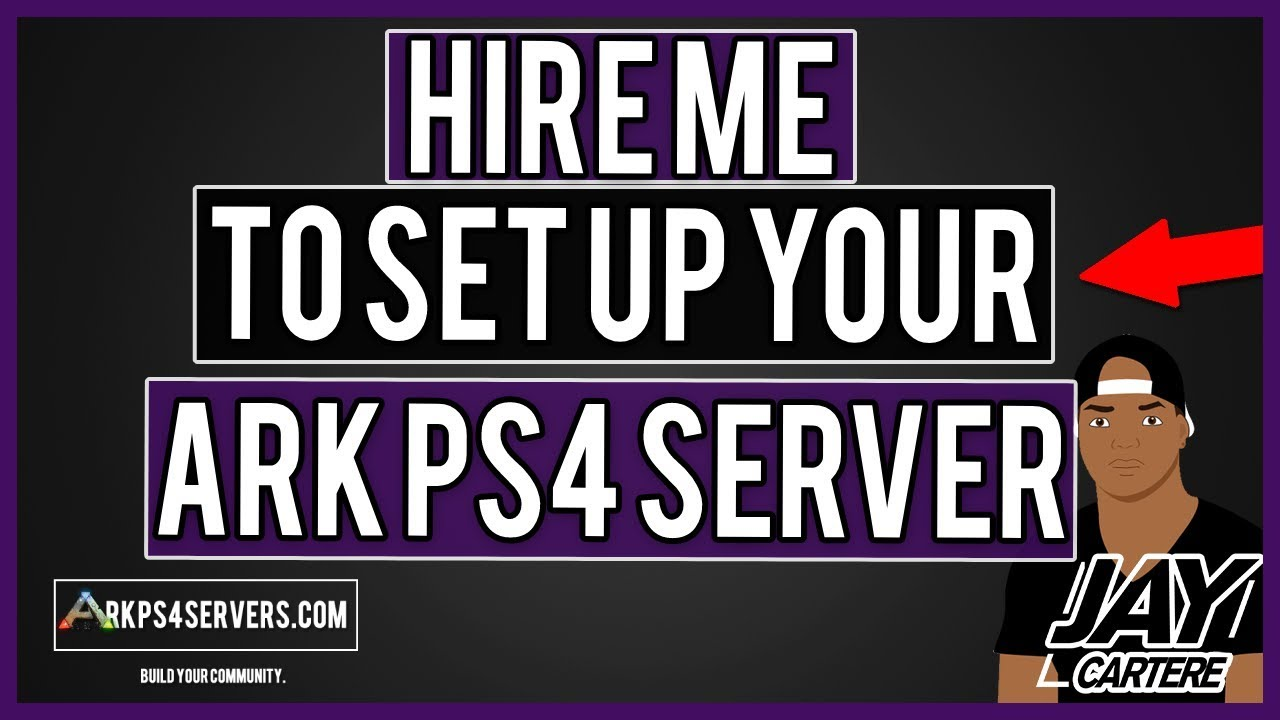 How To Hire Me To Set Up Your ARK Nitrado PS4 Server - Get Your ARK PS4  Server Setup Quickly