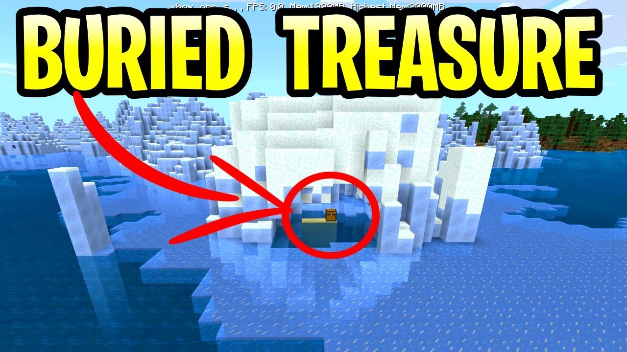 Minecraft Update Aquatic Buried Treasure Hunt! Pe, Xbox, Ps4 & Switch