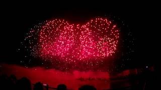 Китай. Фестиваль фейерверков Ростех 2017. 4K. AllVideo