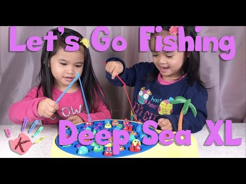 Deep Sea Edition Let's Go Fishing XL Unboxing