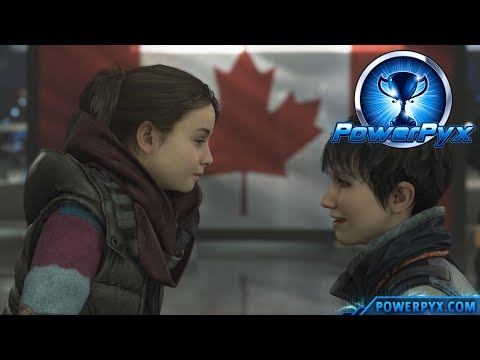 Detroit Become Human - HAPPY FAMILY & SAFE HARBOR Trophy Guide